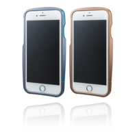 GRAMAS Round Metal Bumper Limited MB524L for iPhone 6