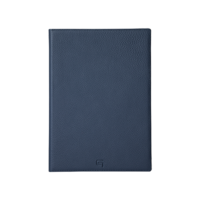 GRAMAS Shrunken-calf Full Leather Case GLC8007NV for iPad 9.7