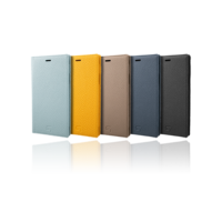 GRAMAS German Shrunken-calf Genuine Leather Book Case GLC-72548 for iPhone XR
